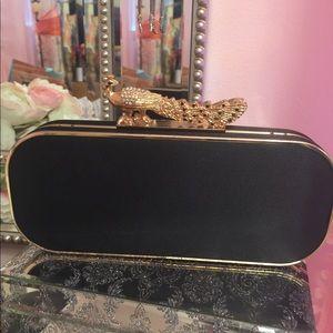 Handbags - Black Clutch